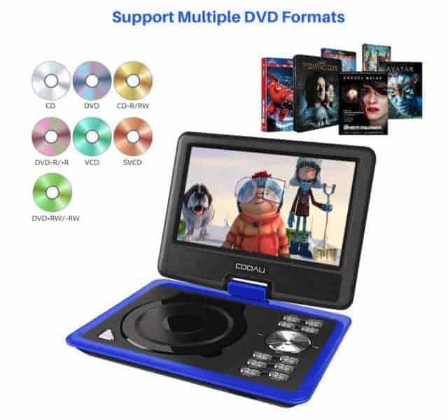 COOAU-Portable-DVD-Player