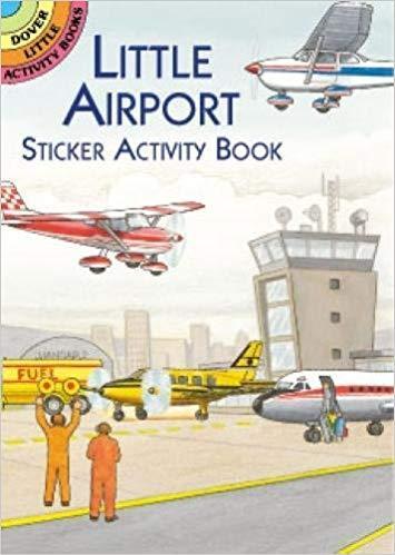 Little-Airport-Sticker-Activity-Book