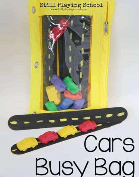 Cars Busy Bags
