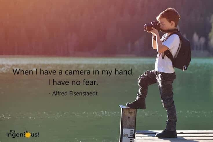Art Quotes For Kids - Alfred Eisenstaedt