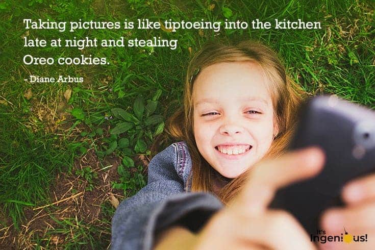 Art Quotes For Kids: Photography 04