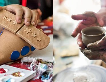 Pottery classes for kids- Pottery Making & Pottery Painting