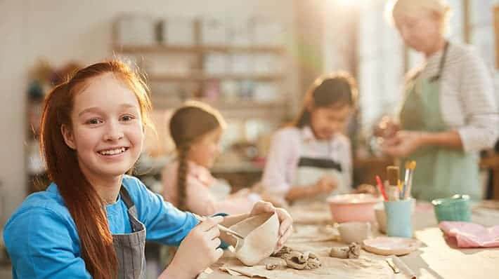 Pottery Making Class For Kids