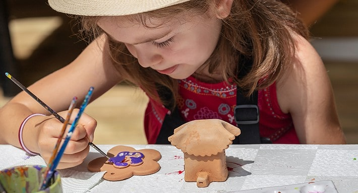 Pottery Painting Class For Kids